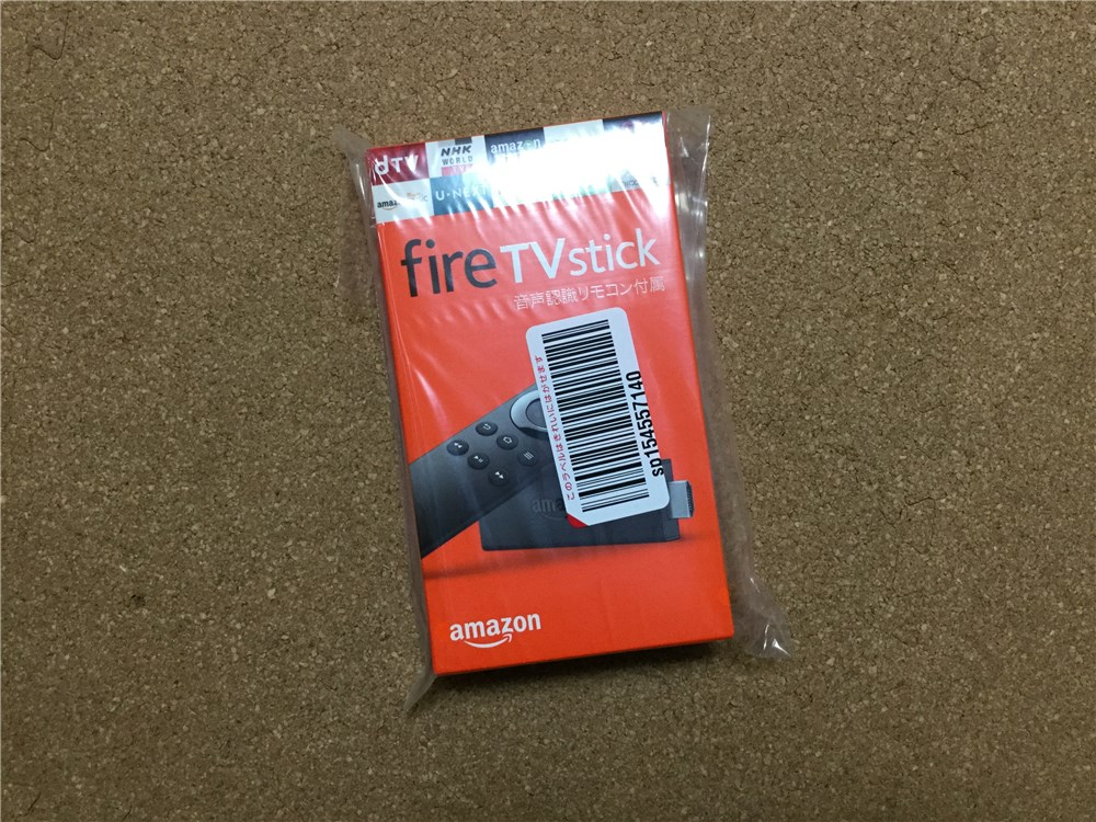 Fire TV Stick(New モデル)